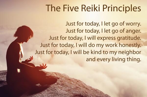 5 Reiki Principals